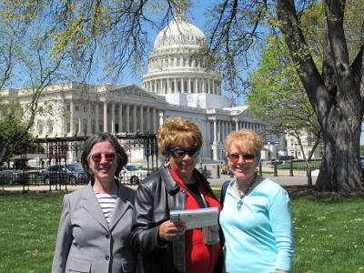 Prayer trip to Washington DC
